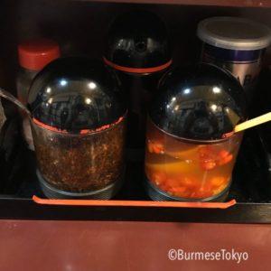 ババミャンマーヌードル の味変調味料