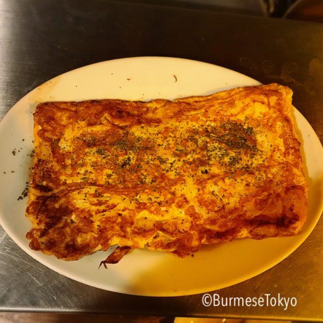 麺屋桔梗のヤンゴン卵焼き