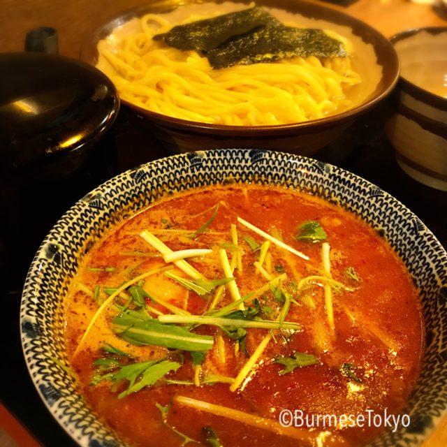 麺屋桔梗のつけ麺(大)大変更無料