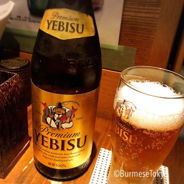 びるまの竪琴のレアなエビスビール