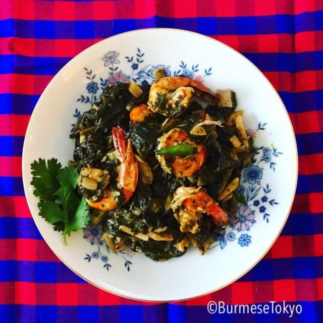 ミャンマーの人気料理:チンバウンジョー