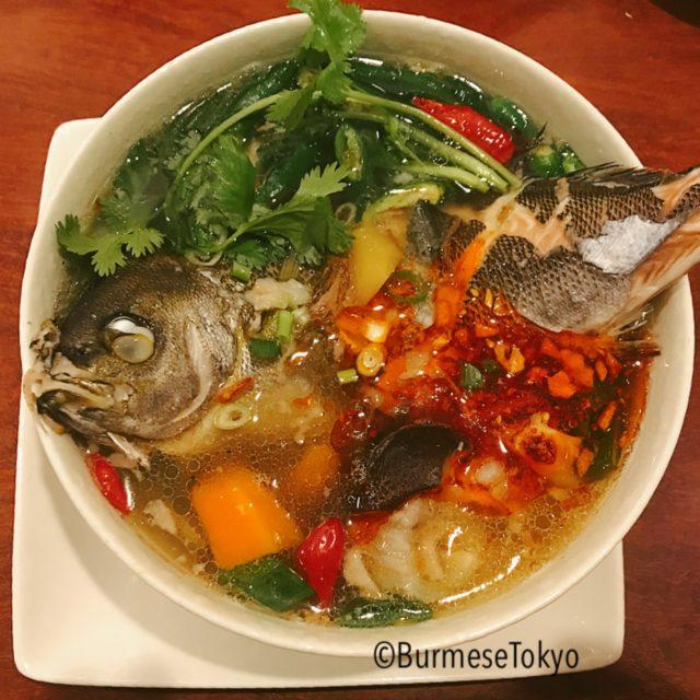 イサキのスープ(これもスペシャリテのためその日のおまかせとなります)
