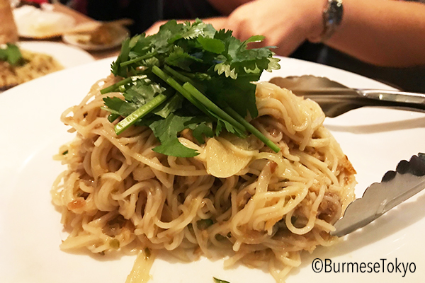 ベイ料理:ベイ和え麺