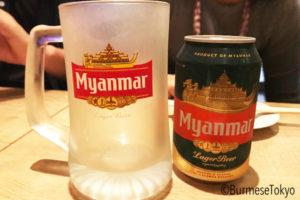 親の家〜先ずはミャンマービールから