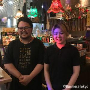 アジアン酒場親の家のジョーさんとキンさん