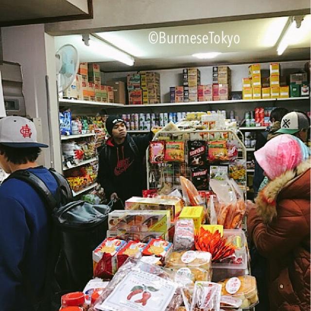 大久保:TOKO INDONASIAの店内