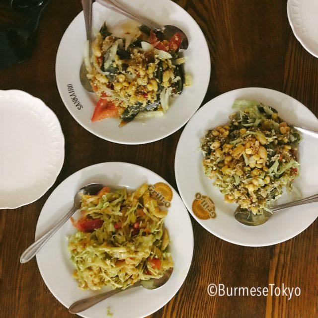 MMの料理(アトゥ)3種