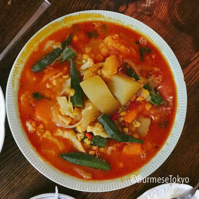 MMの野菜のスープ