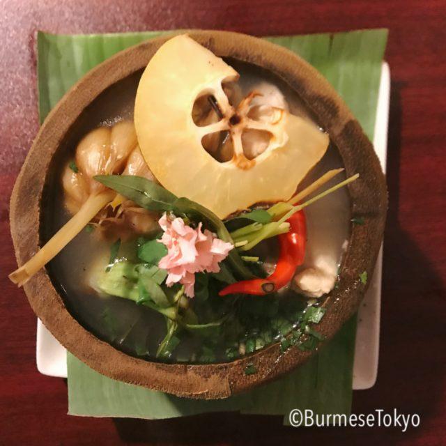 Mu Ai Kachinのチキンスープ