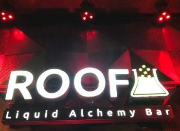 ヤンゴンのバー ROOF