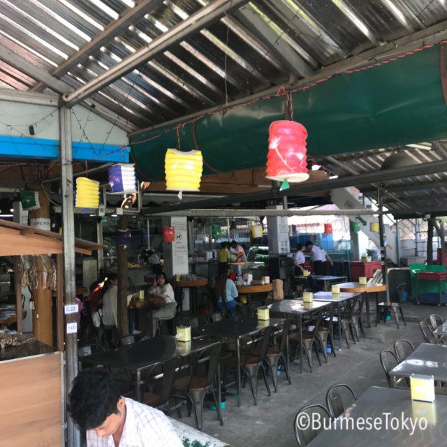 ラカイン料理店 MIN LAN(Shinsawpu支店)