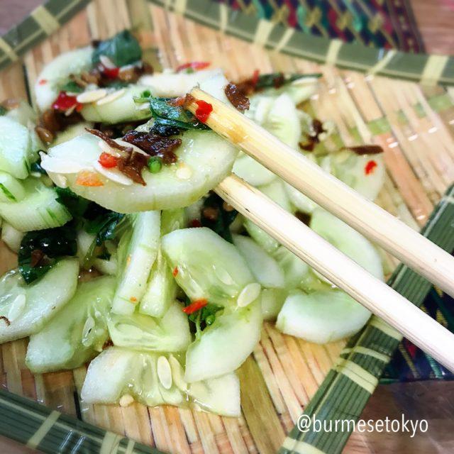 Hha Hku の納豆きゅうりのサラダ