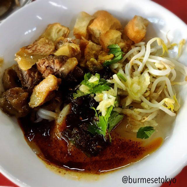 Sanpya Daw Kyiで食べたミシェ