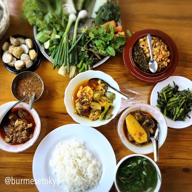 Aung Thukhaのオーダー料理
