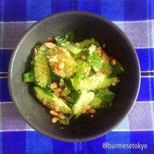 カチン納豆きゅうりサラダ