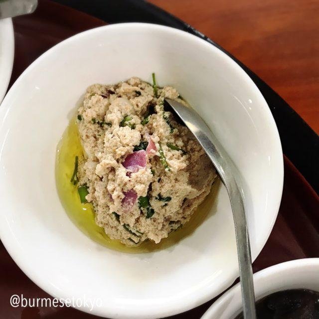 ミャンマー発酵食:ナンバッチン