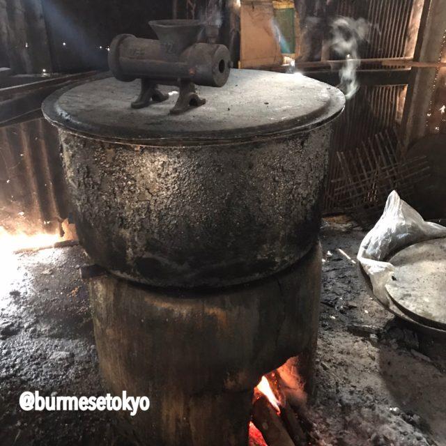 ビルマ料理調理名:茹でる(ピョー)