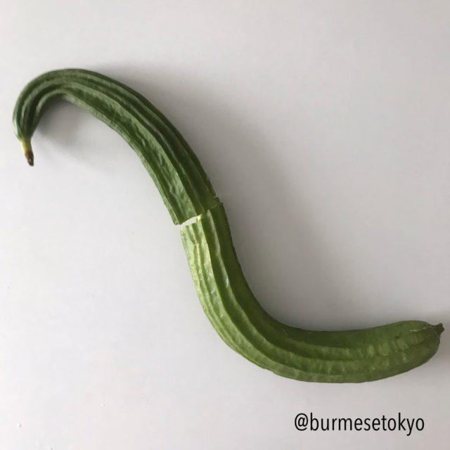 ミャンマー野菜;トカドヘチマ