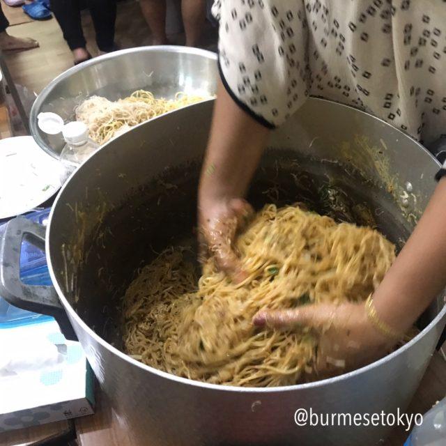 ミャンマーの和える料理法「アトゥ」