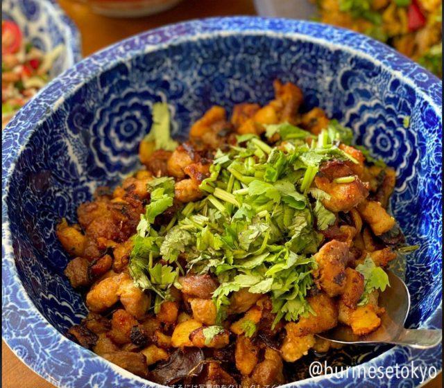 アジさんのカチン料理(Shan Hkak)