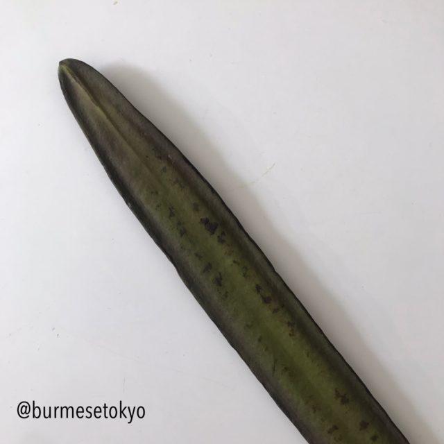 ミャンマー野菜(チャウンシャーディ)タイ名でリンファー