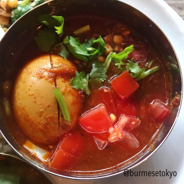 鈴木ラペ子のミャンマー卵カレー