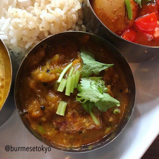 Shanti Kutiさんの創作野菜カレー