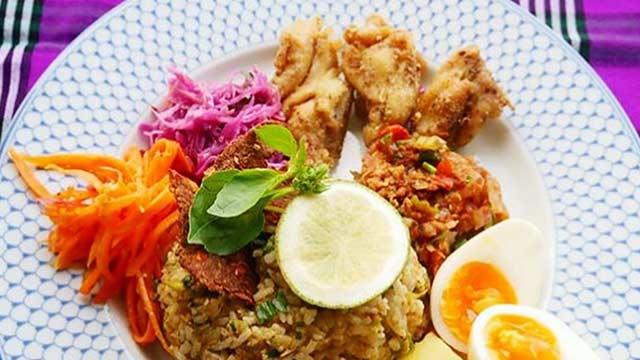 ミャンマーシャン州の納豆&ハーブ料理レッスン
